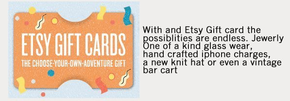 Etsy Gift Cards