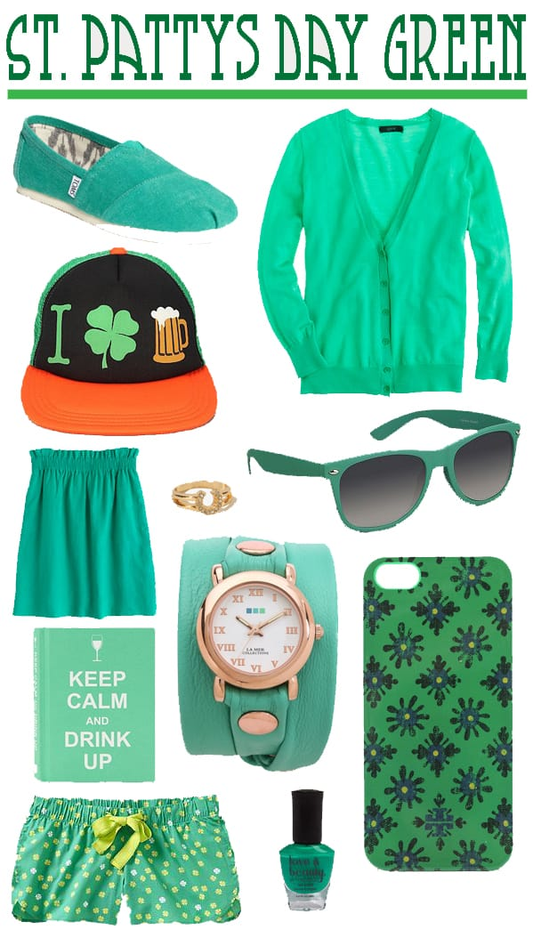 St Pattys Day Green