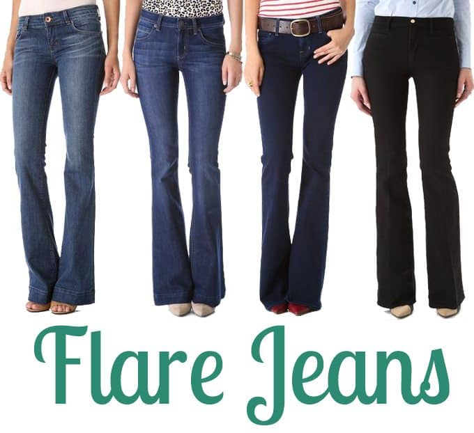 Flare Jeans | Blue Mountain Belle