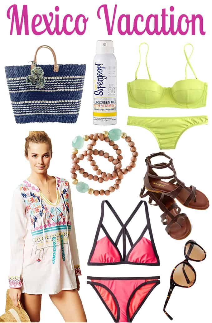 What To Pack For Your Trip To Mexcio   Blue Mountain Belle