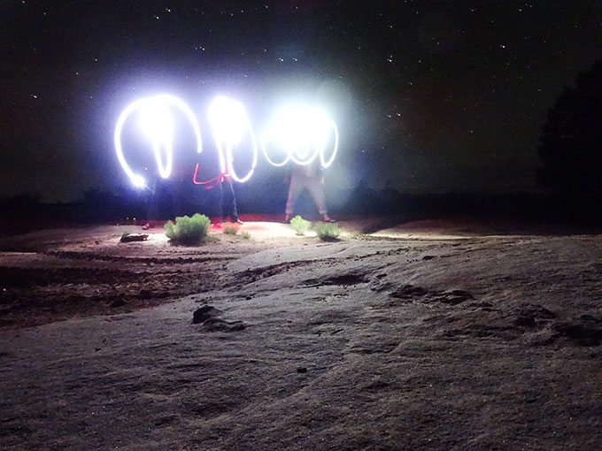 Moab Night Photography | Blue Mountain Belle