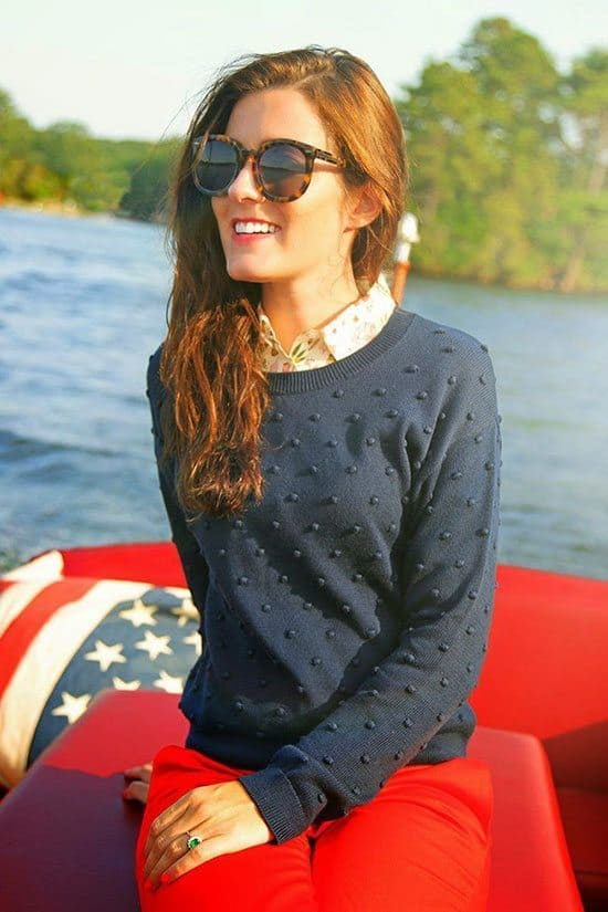 Bright Sweaters For Fall   Blue Mountain Belle