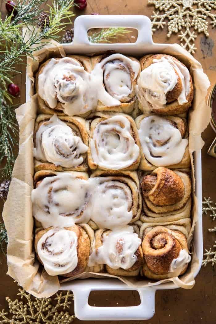 Christmas Cinnamon Roll Ideas
