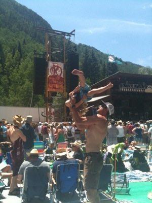 Telluride Bluegrass Festival Day 2