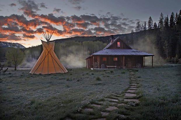Dunton Hot Springs Resort Colorado   Blue Mountain Belle