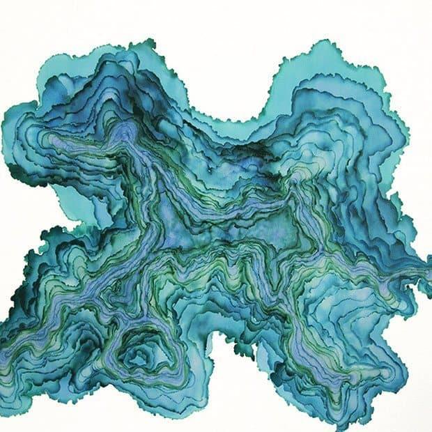 Tobias Tovera Paintings   Blue Mountain Belle