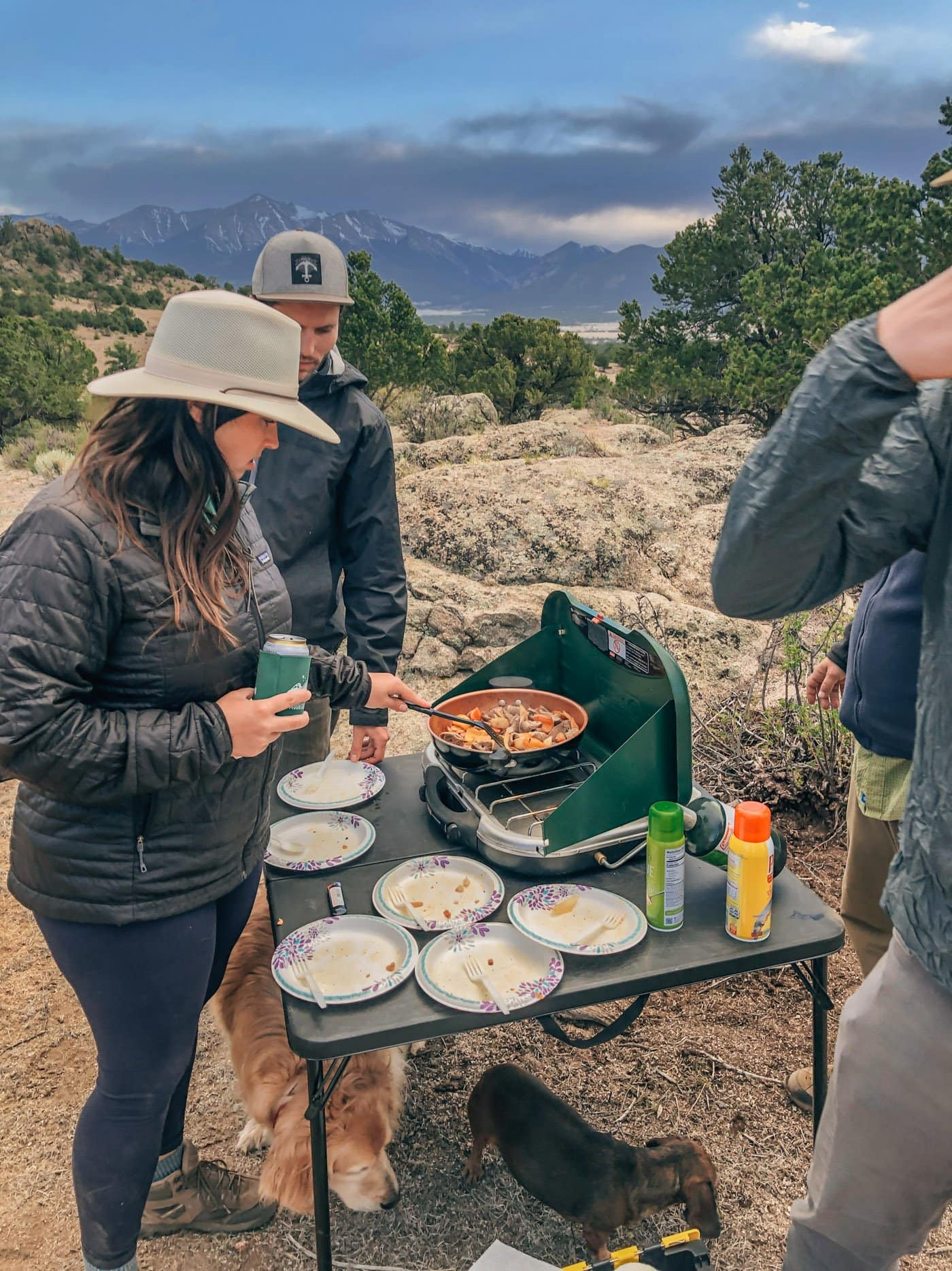Camp Cooking in Buena Vista