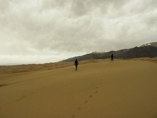 Great Sand Dunes National Park Colorado   Blue Mountain Belle