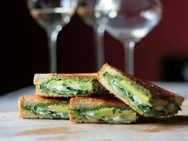 Green Goddess Grilled Cheese Sandwich   Blue Mountain Belle