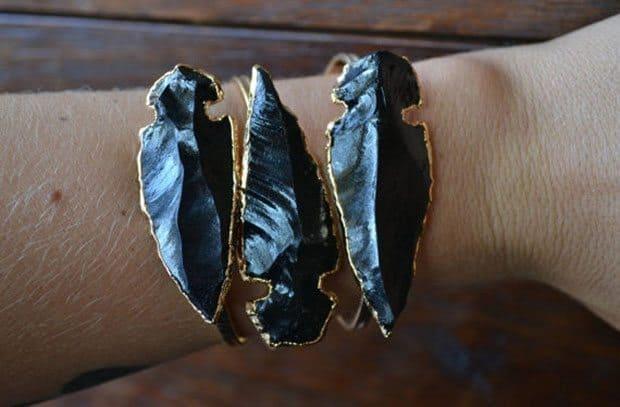 Large Arrowhead Bracelet LuxeDivine   Blue Mountain Belle