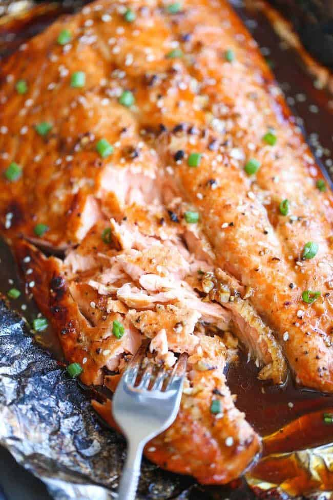 5 ways to cook salmon in foil | Asian Salmon in Foil