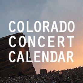 Colorado Concert Calendar