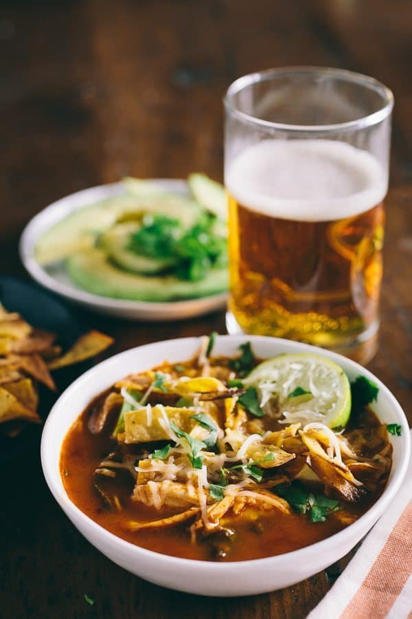 8 Winter Soups   Chicken and Chard Tortilla Soup