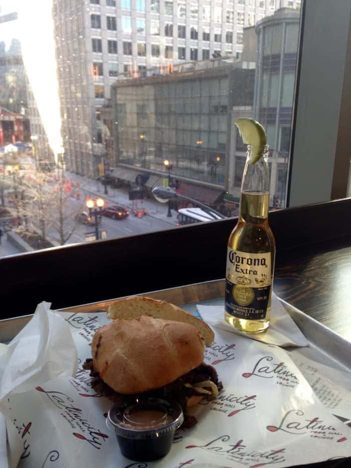Lunch at Latinicity - 24 Hours in Chicago | Blue Mountain Belle