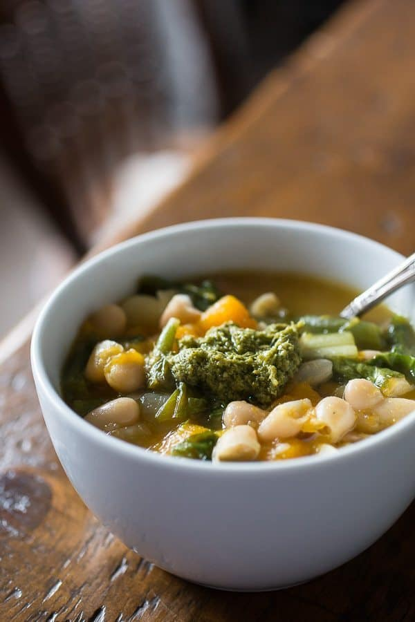 8 Winter Soups   butternut squash minestrone