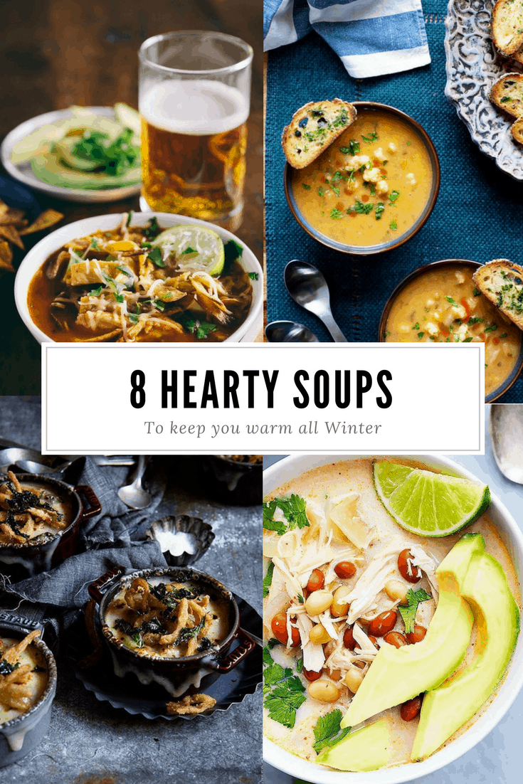 8 Winter Soups & Chilis