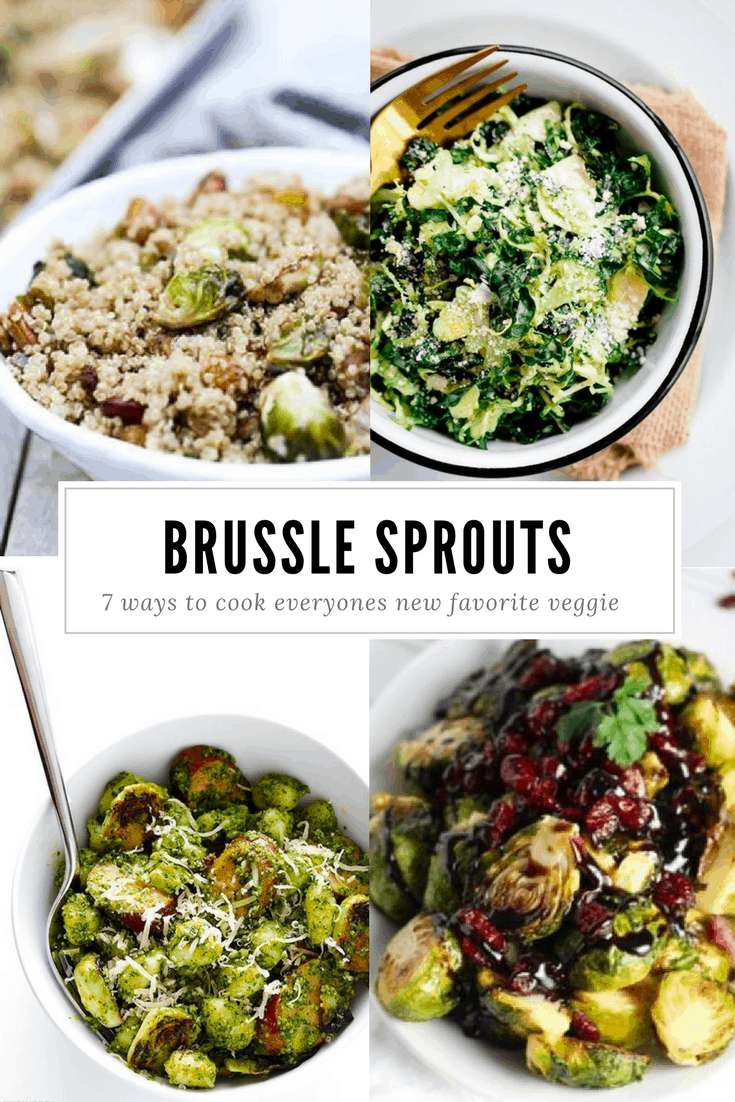 7 Yummy ways to do Brussel Sprouts