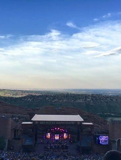 Widespread Panic Red Rocks 2016   Blue Mountain Belle