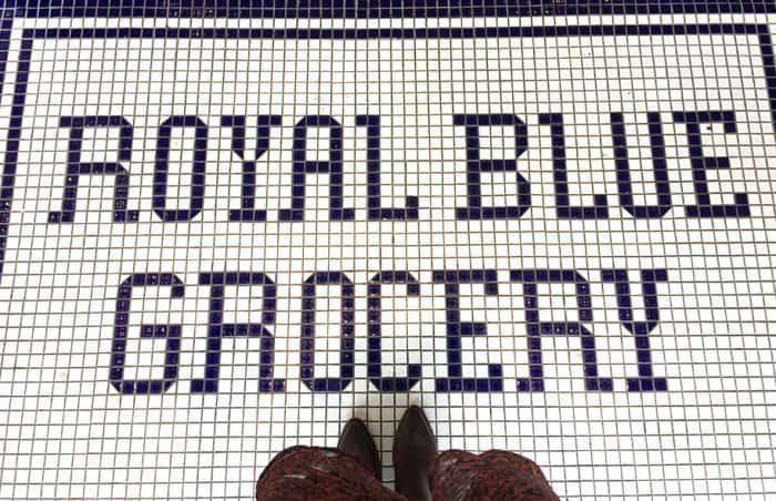 Royal Blue Grocery in Highland Park Village   Blue Mountain Belle