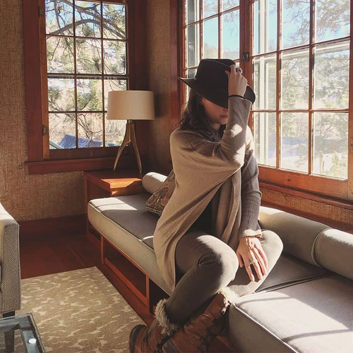 Shades of Green and Tan at The Outlook Lodge | Blue Mountain Belle