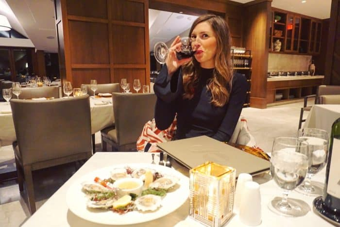Hotel Talisa Vail in DVF Flares Sleeve Sweater
