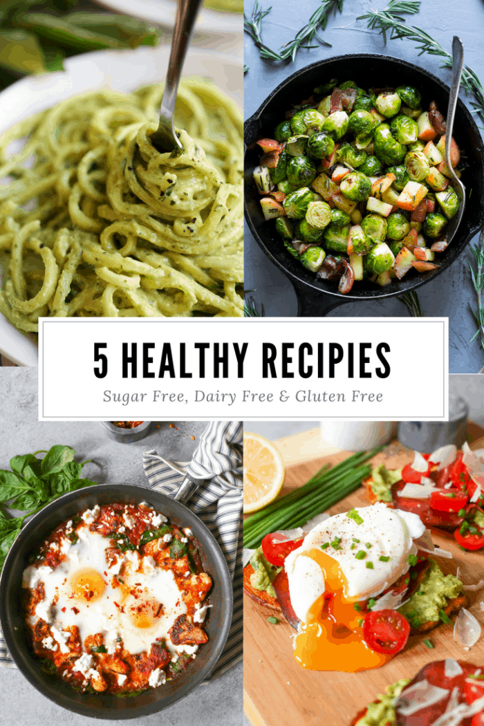My Favorite Semi-Whole30, Dairy Free, Gluten Free & Sugar Free Recipes