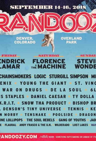 Grandoozy - Denver's First Superfly Festival