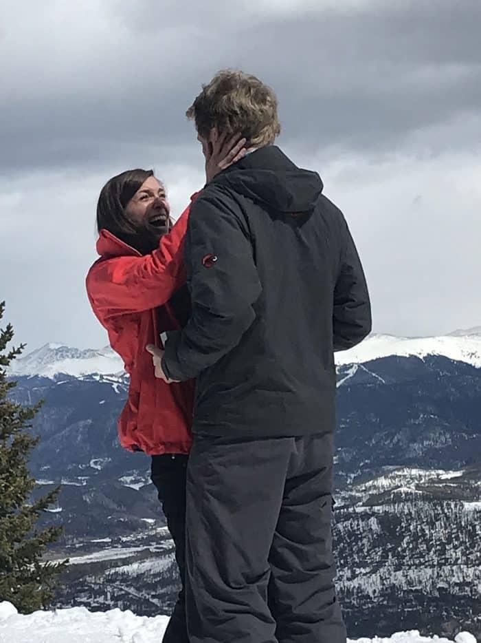 Breckenridge Engagement   Blue Mountain Belle
