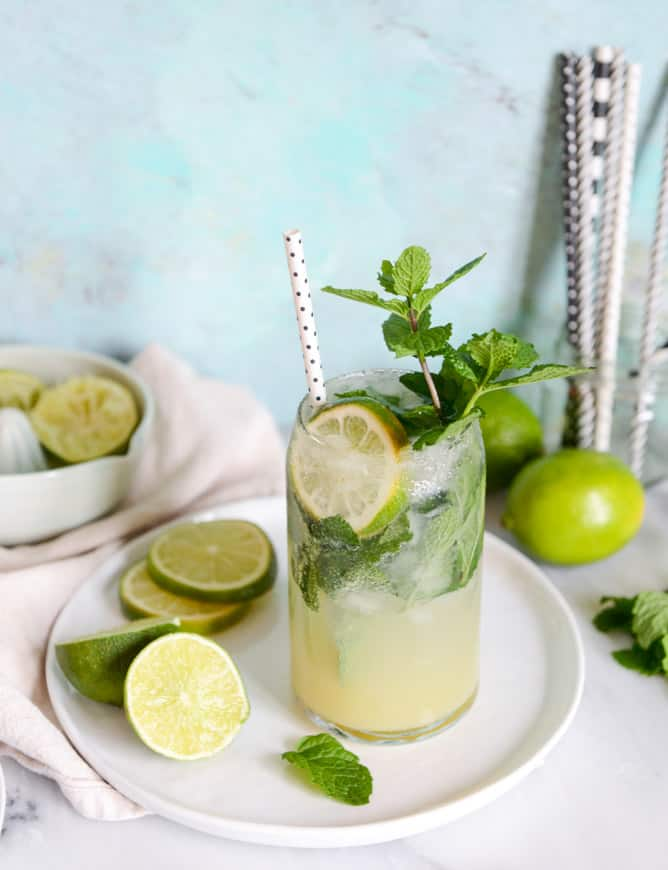 Mojito Margarita by How Sweet Eats
