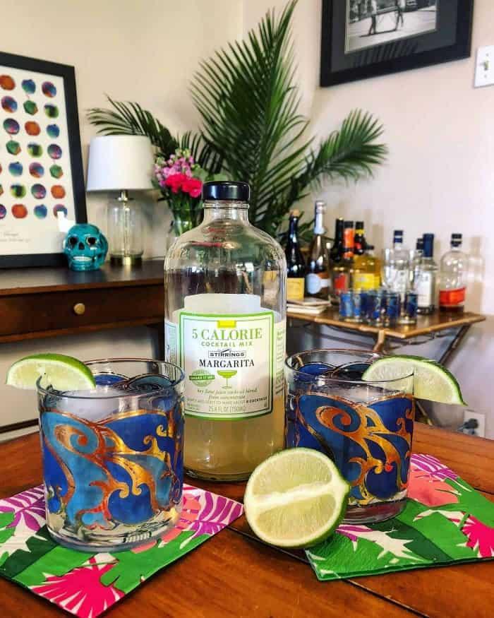 Stirrings 5 Calorie Margarita Mix   Blue Mountain Belle