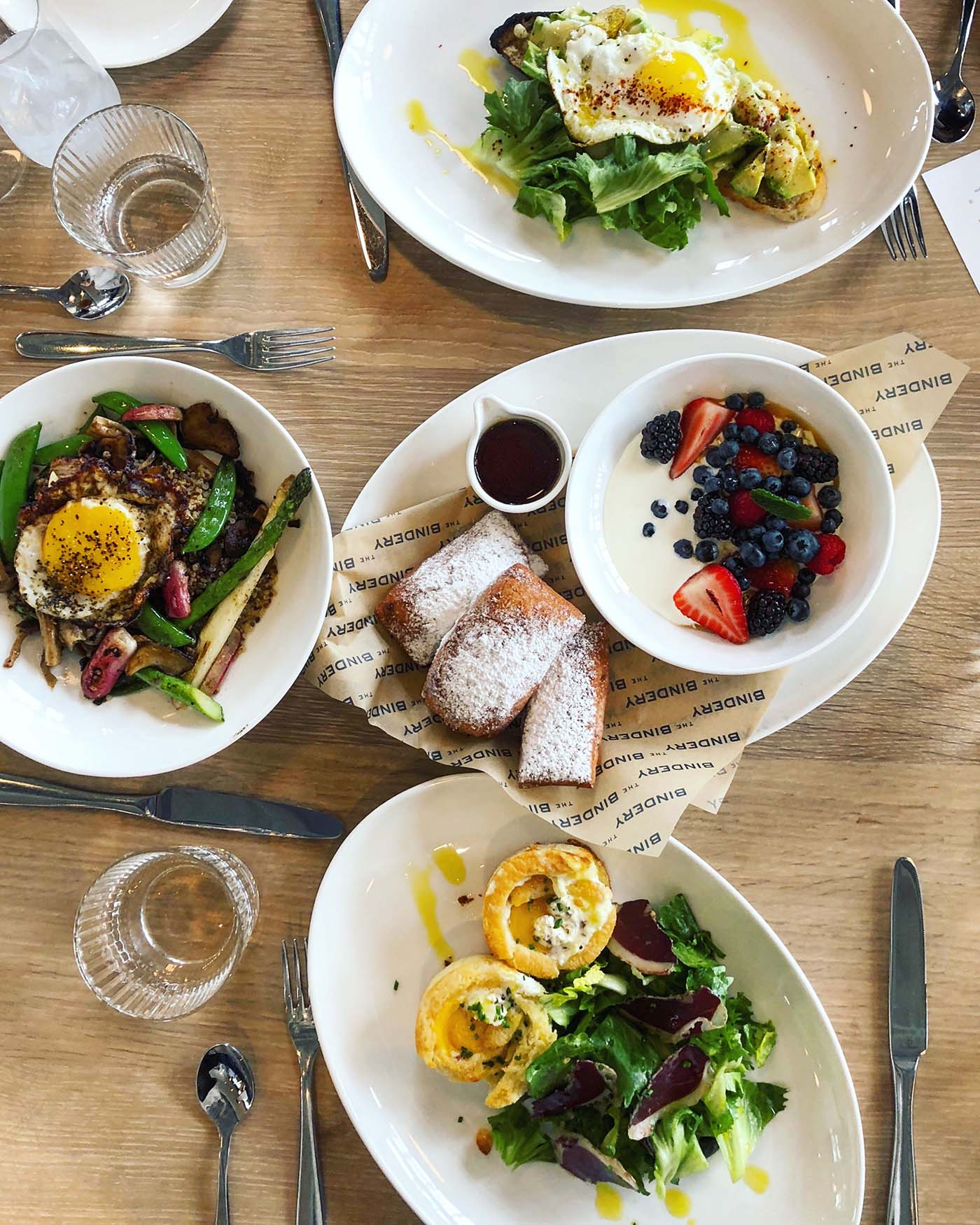 The Bindery Denver Brunch | Blue Mountain Belle
