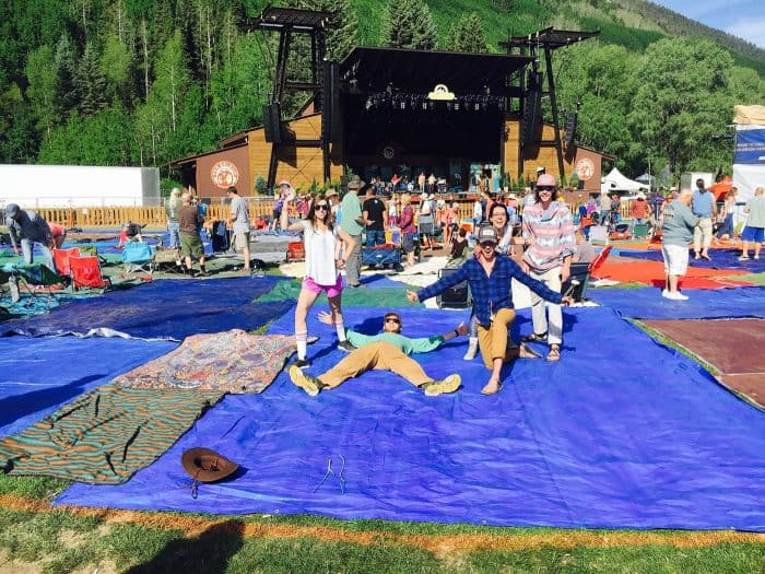 Telluride Bluegrass Festival Guide - Tarp Run