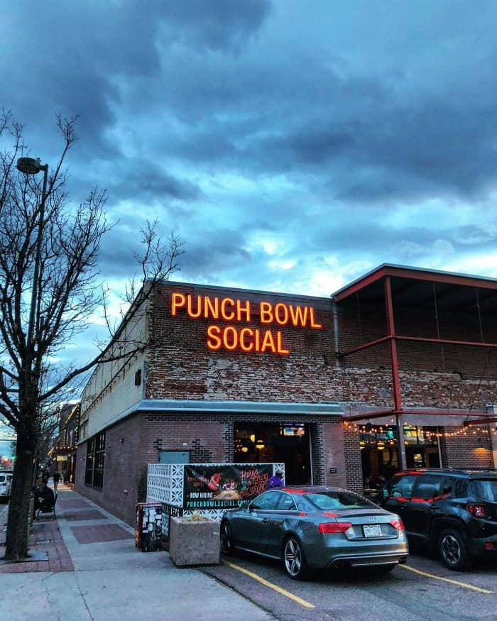 Punch Bowl Social - The Best Brunches Around Denver | Blue Mountain Belle