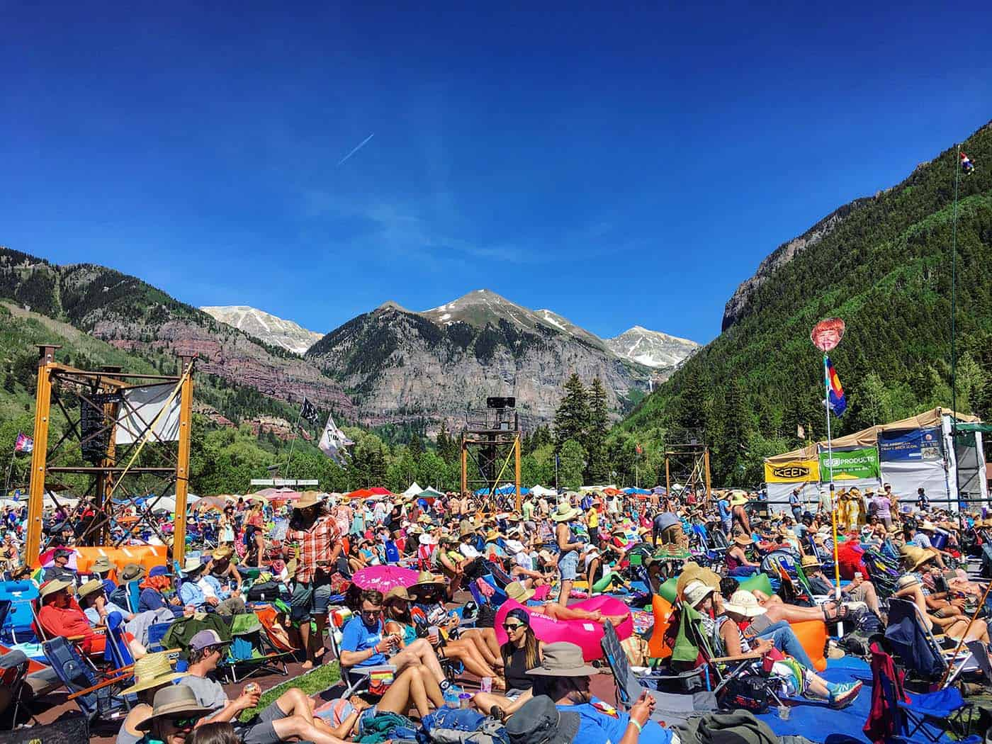 Telluride Bluegrass Festival Guide - Where to camp, tarp run and what to pack