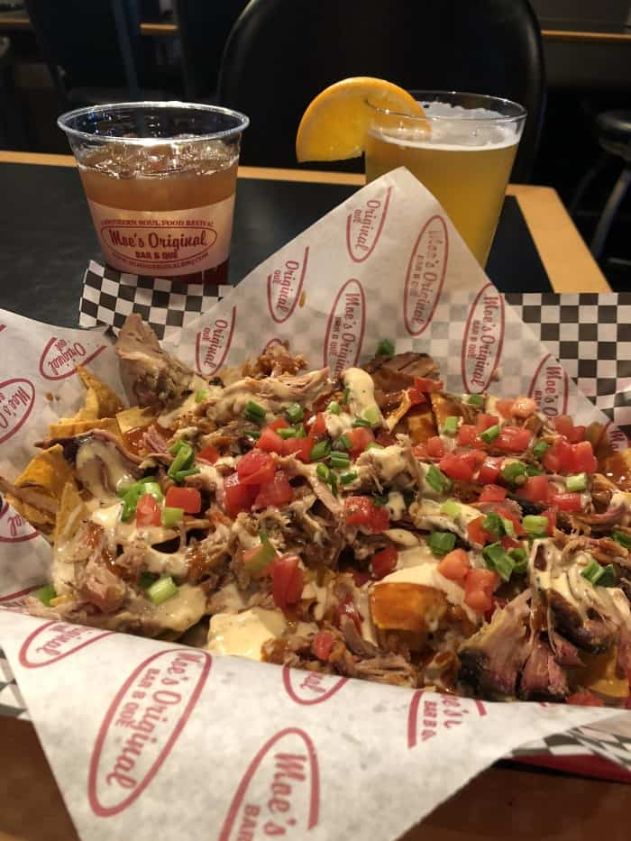 Moe's Nachos with White Queso - Where to find white queso in Denver