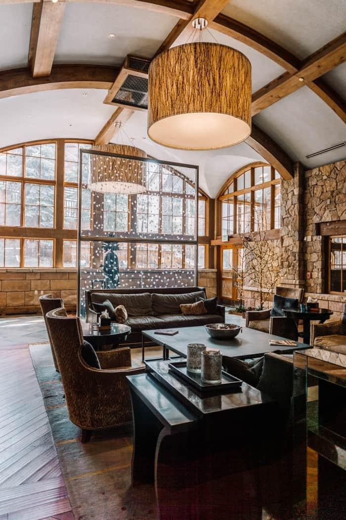 Blue Mountain Belle's Review of The Sebastian Vail - The Lobby