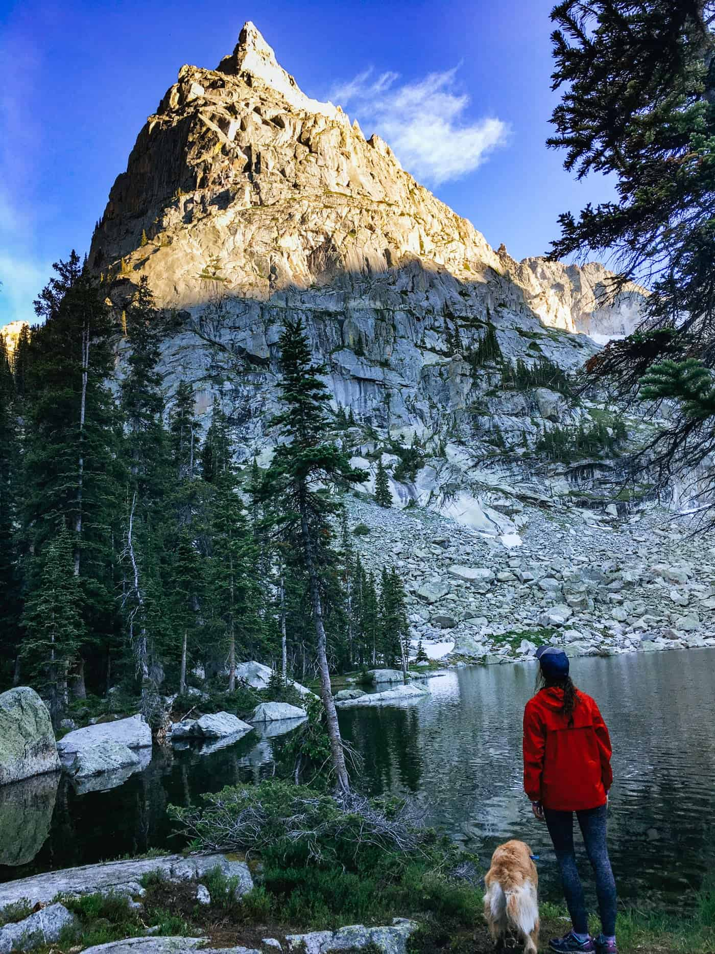 Backpacking to Crater Lake, Lone Eagle Peak
