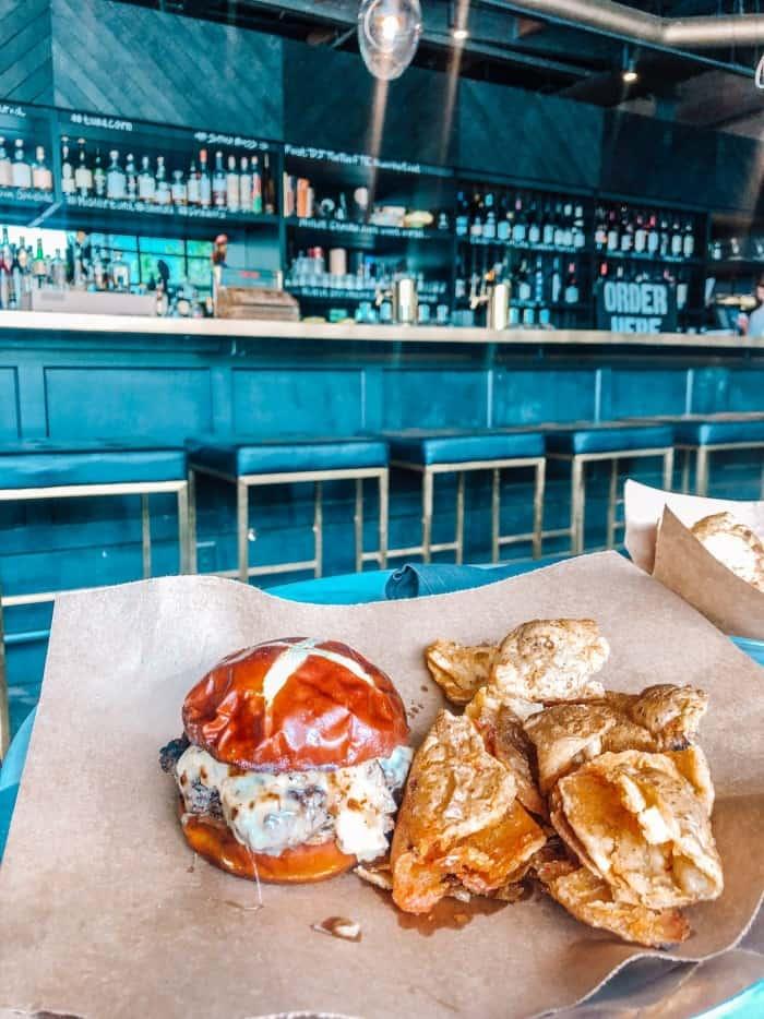 Mister Tuna Burger Lunch Special Denver
