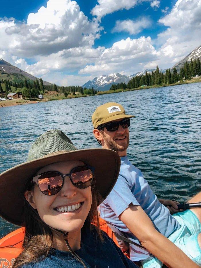 Clay & Channing at Molas Lake