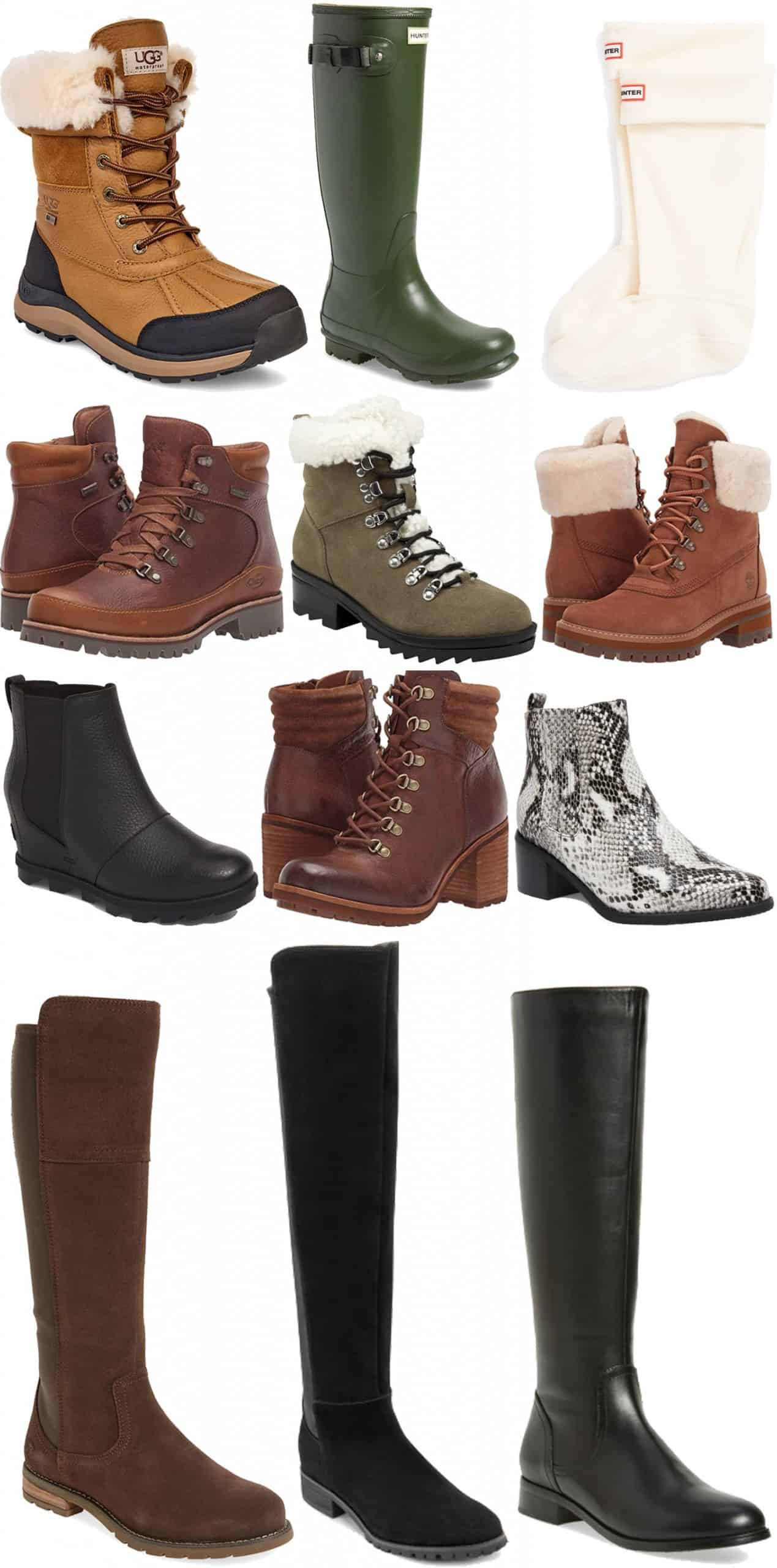12 Winter Weather Boots