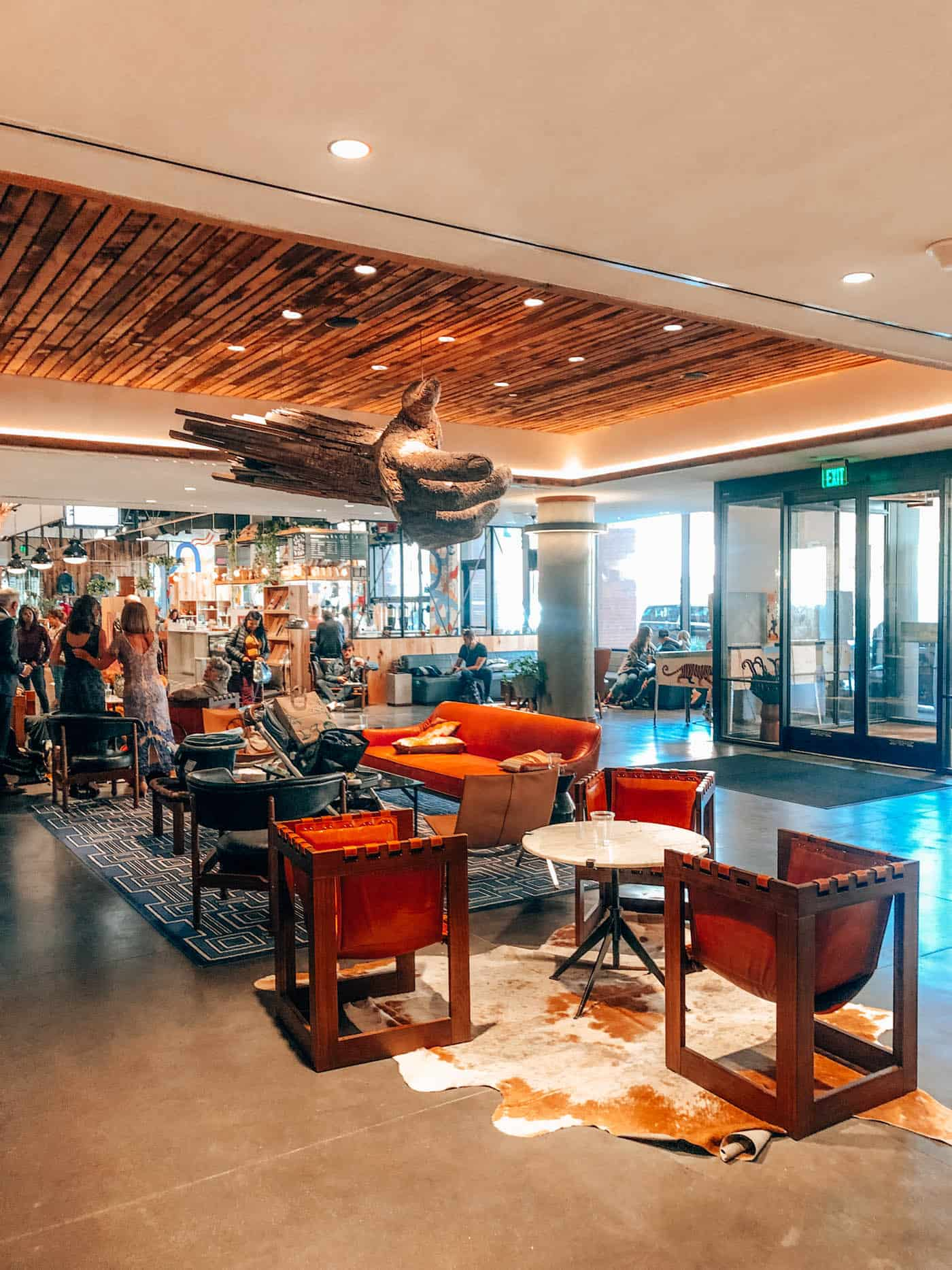 The Maven Hotel Lobby