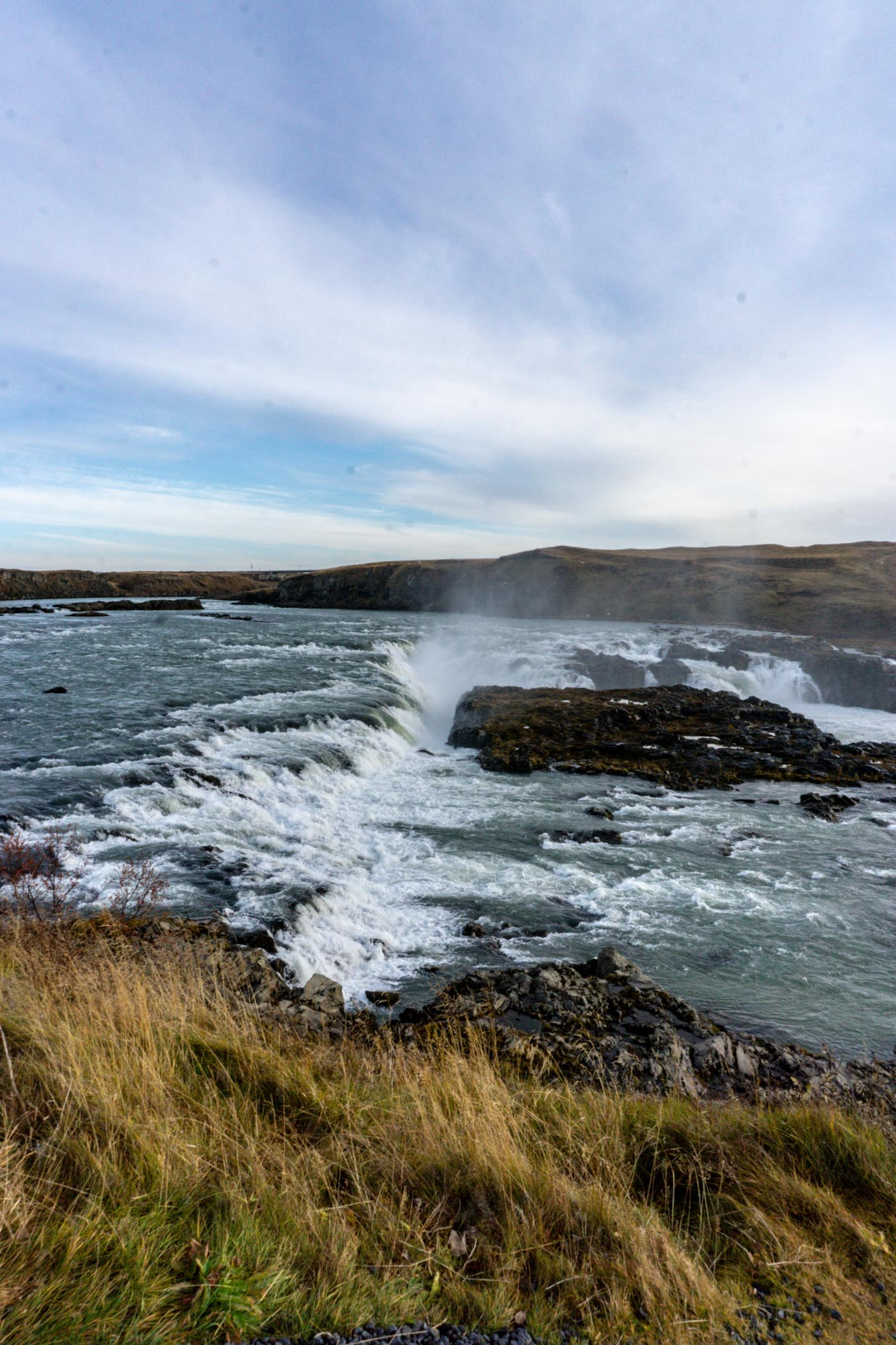 Urriofoss waterfall in Iceland