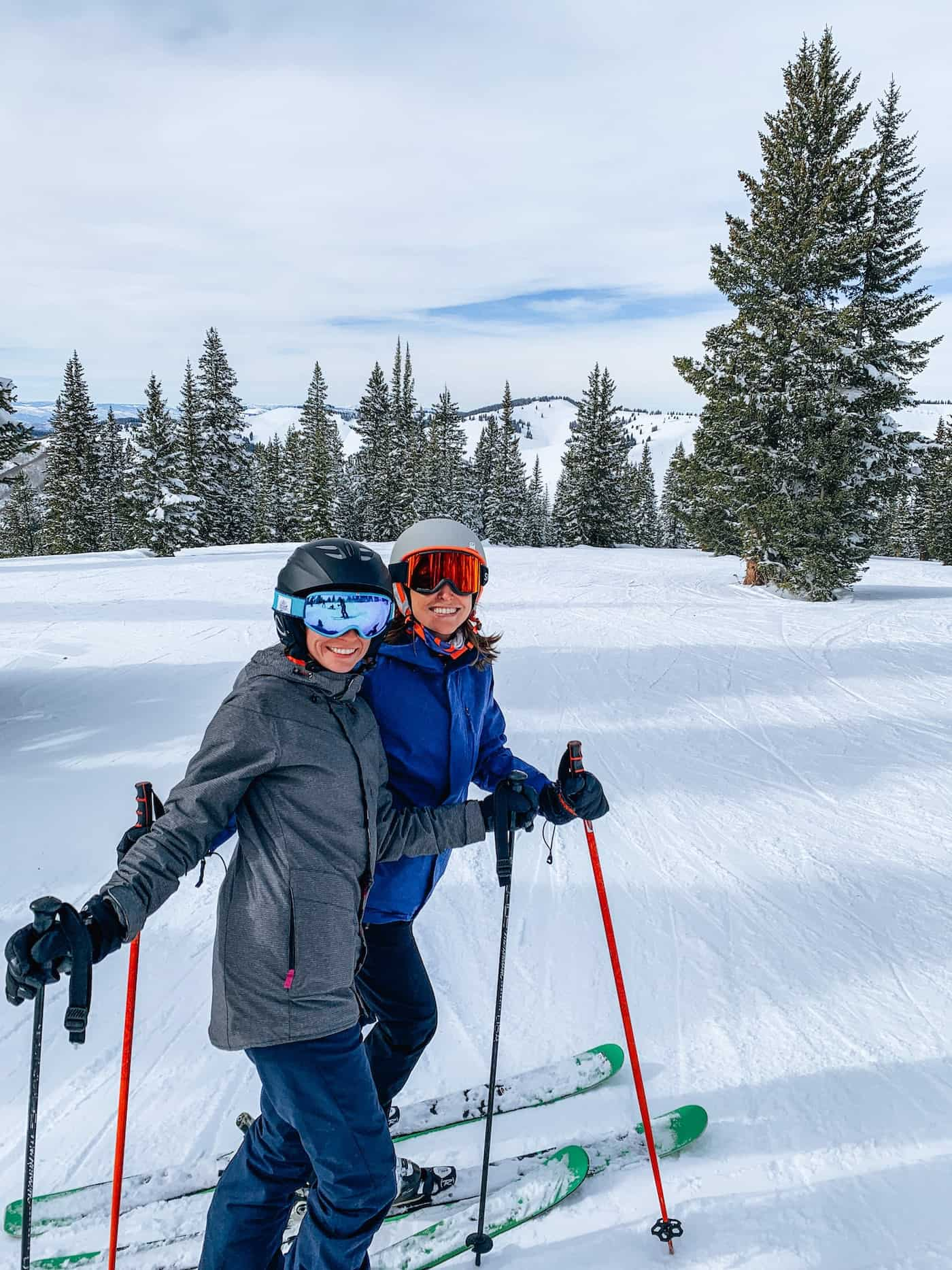 Blue Mountain Belle Skiing Vail