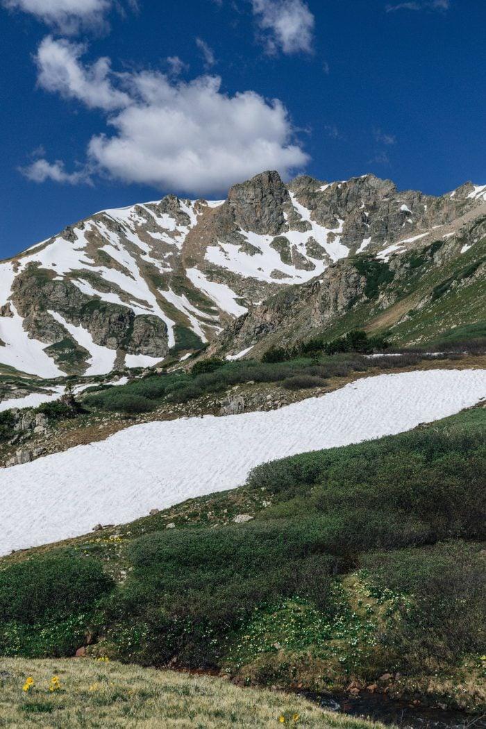 Hiking to Herman Gulch Colorado