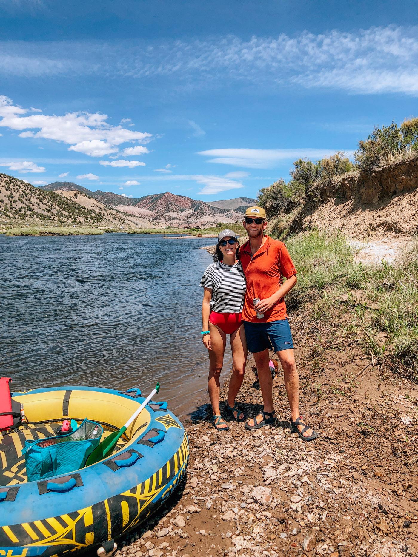 Lazy River Float - Turtle Tubes Dotsero