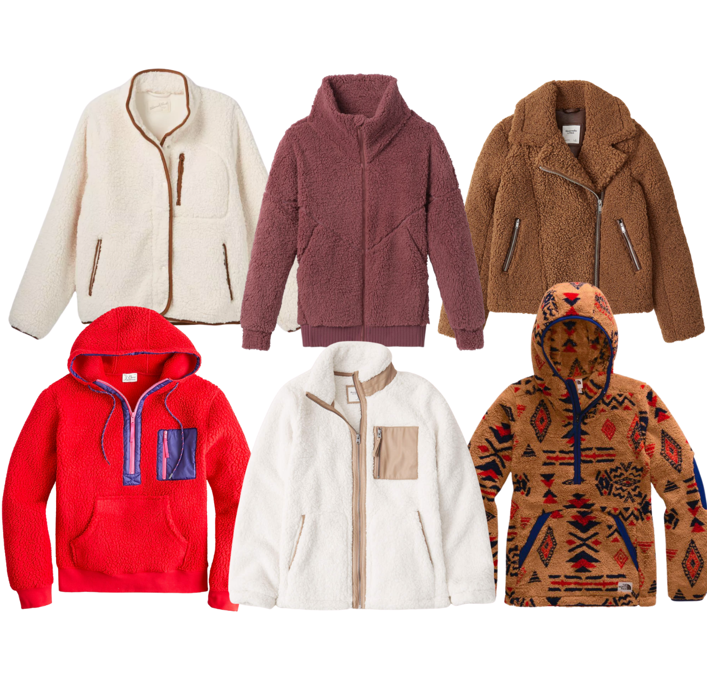 Crushing on Teddy Jackets for Fall