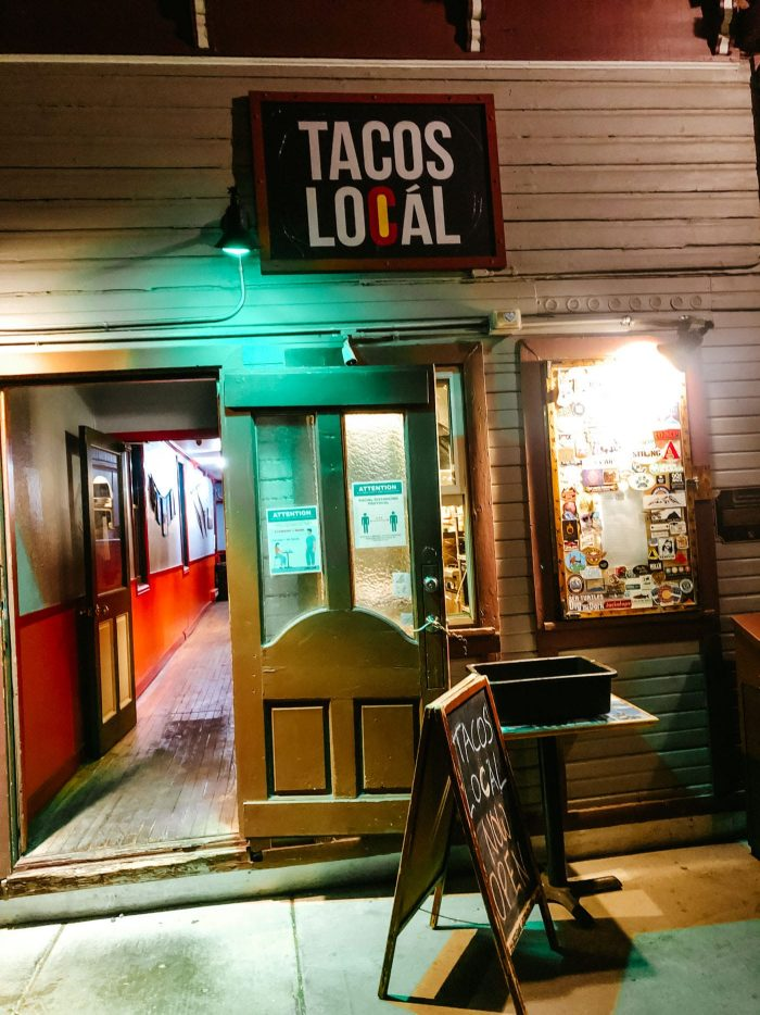 Tacos Local Crested Butte
